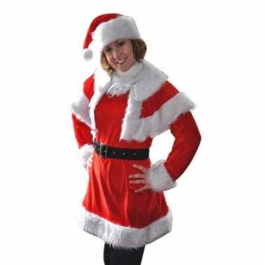 Compleet kerstkostuum noel dames