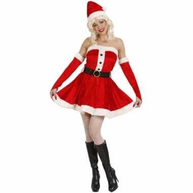 kerstpak vrouw kostuum
