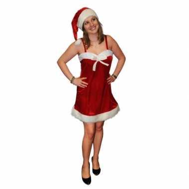 Kerstjurkje kerstmuts dames