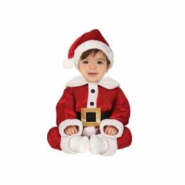 Kerstman baby verkleed pak delig