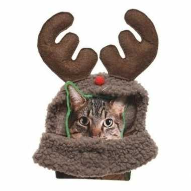 Kerstpakje rendier huisdieren