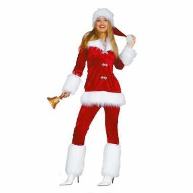 Luxe kerst dames pak